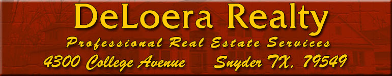 Snyder Homes for Sale. Real Estate in Snyder, Texas – Sherry DeLoera